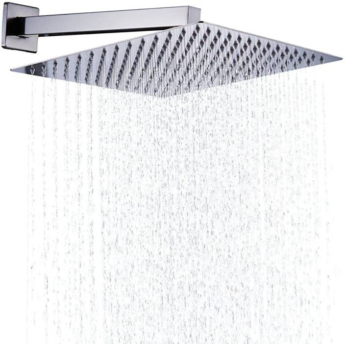 Kitsch Ultra Thin Ss Square 300mm 12 X12 Rain Shower Combo With