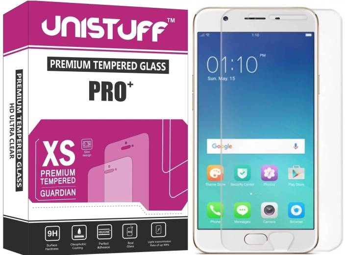 Unistuff Tempered Glass Guard for OPPO F1s