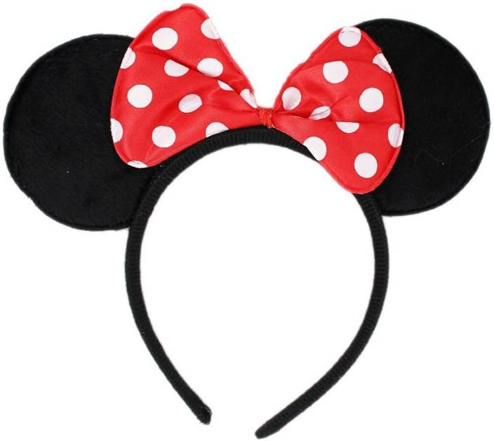 6348d0cc12 Skywalk Mickey Mouse Minnie Mouse Ears Head Hairband Party Costume  Accessory Hair Band