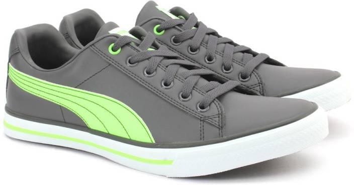 baaac630337 Puma Salz III DP Sneakers For Men - Buy Asphalt-Green Gecko Color ...