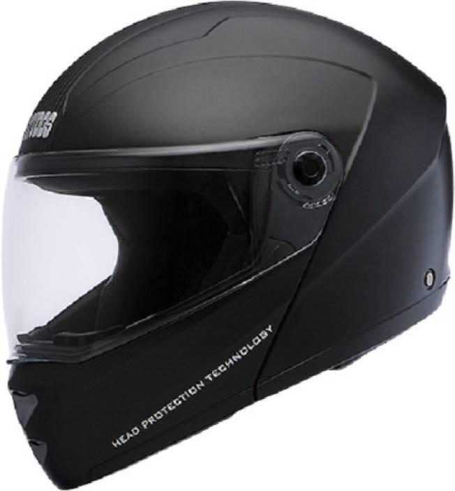 7ec804ad Studds Ninja Elite Motorsports Helmet (BLACK WITH CARBON CENTER STRIP)