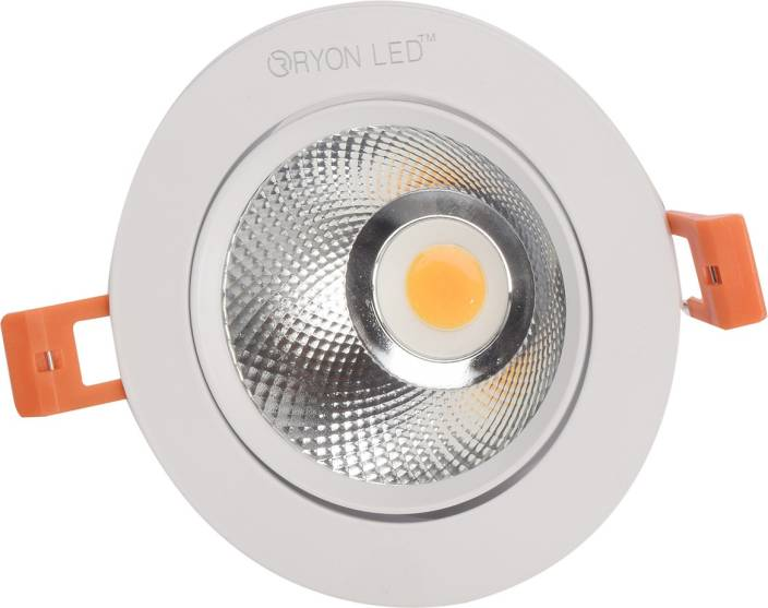 6455384343c Ryon Led Ceiling Spotlight 7 Watts Recessed Ceiling Lamp Price in India -  Buy Ryon Led Ceiling Spotlight 7 Watts Recessed Ceiling Lamp online at  Flipkart. ...