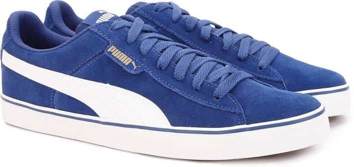 Puma 1948 Vulc Sneakers For Men - Buy TRUE BLUE-Puma White Color ... be025ef9d