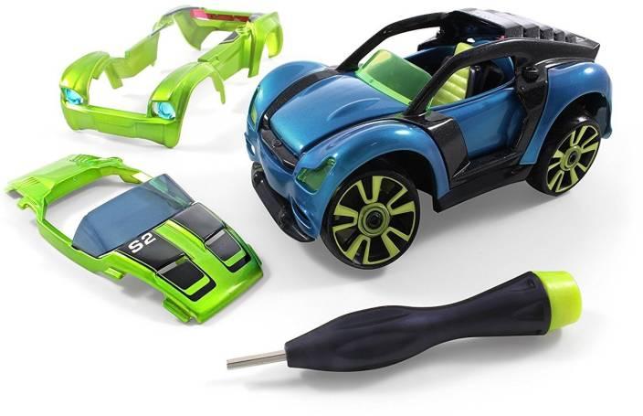Modarri Modarri S2 Muscle Car Delux Single - Build Your Car Kit Toy Set -Ultimate Toy Car