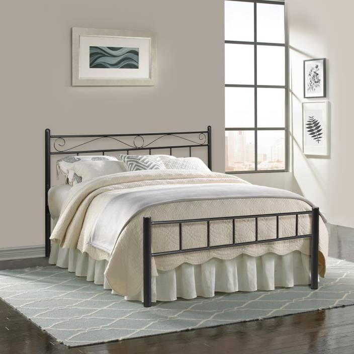 FurnitureKraft London Metal Queen Bed