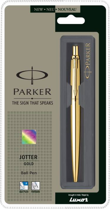 Parker Jotter Gold GT Ball Pen
