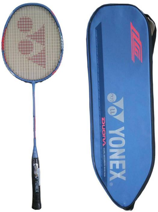 Yonex DUORA 77 Badminton Racquet With Full Cover Blue Strung Badminton  Racquet (G4 -3.25 Inches 4fca865d2f