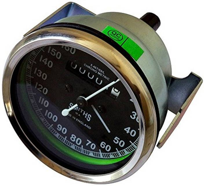 Almos Smith Black Dial for Royal Enfield Analog Speedometer