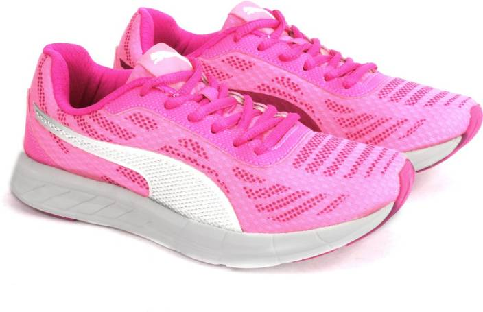 Puma Meteor Wn s IDP Running Shoes For Women (Pink, Silver)