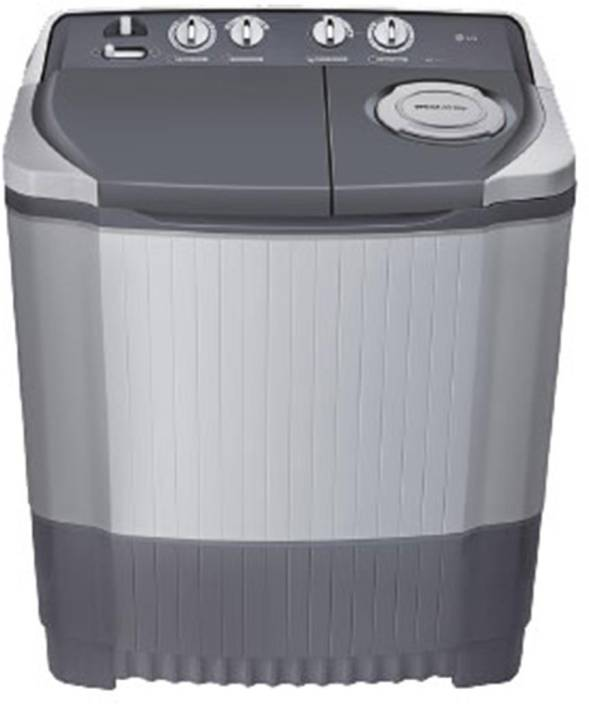 LG 6.5 kg Semi Automatic Top Load Washing Machine Grey ...