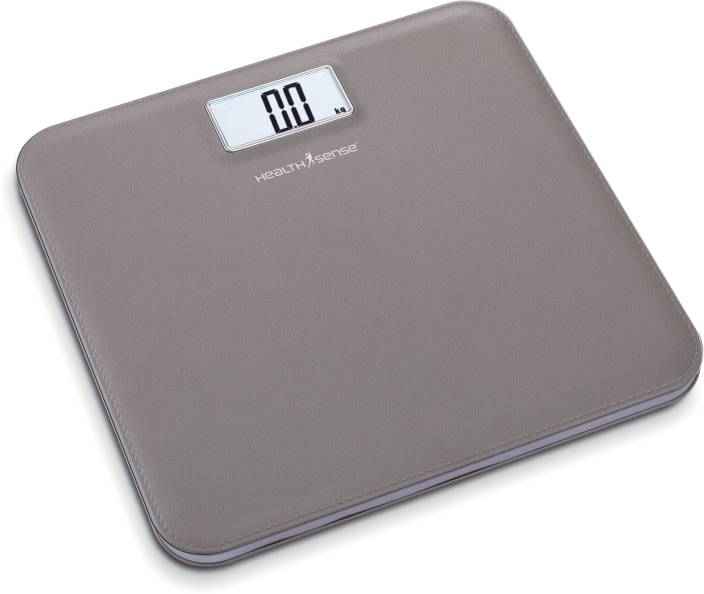 Health Sense Leather-Lite Digital Personal Weighing Scale Weighing Scale