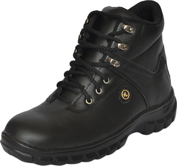 6839cb48859 Fashion Tree SAFETY SHOE WITH STEEL TOE CAP MID ANKLE BOOT TIMBERWOOD Boots  For Men