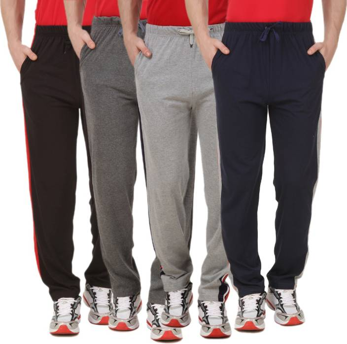 ANIXA Solid Men's Multicolor Track Pants