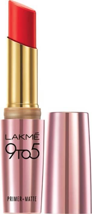 Lakme 9 To 5 Primer Matte Lip Color Price In India Buy Lakme 9