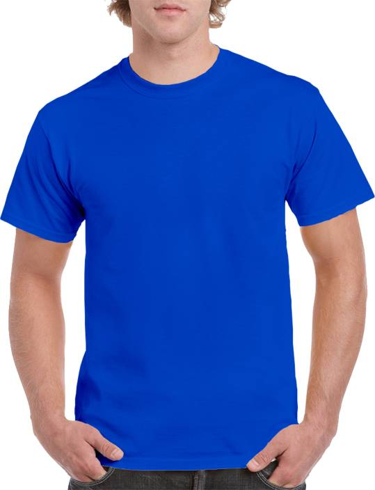 shop online here most reliable Arod Self Design Men Round Neck Blue T-Shirt