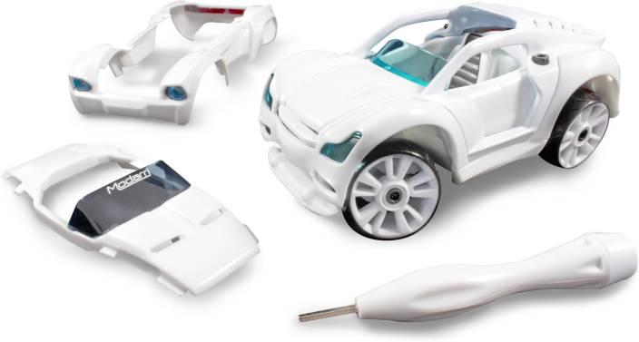 Modarri S2 Paint-It Muscle Car Delux Single - Build Your Car Kit Set