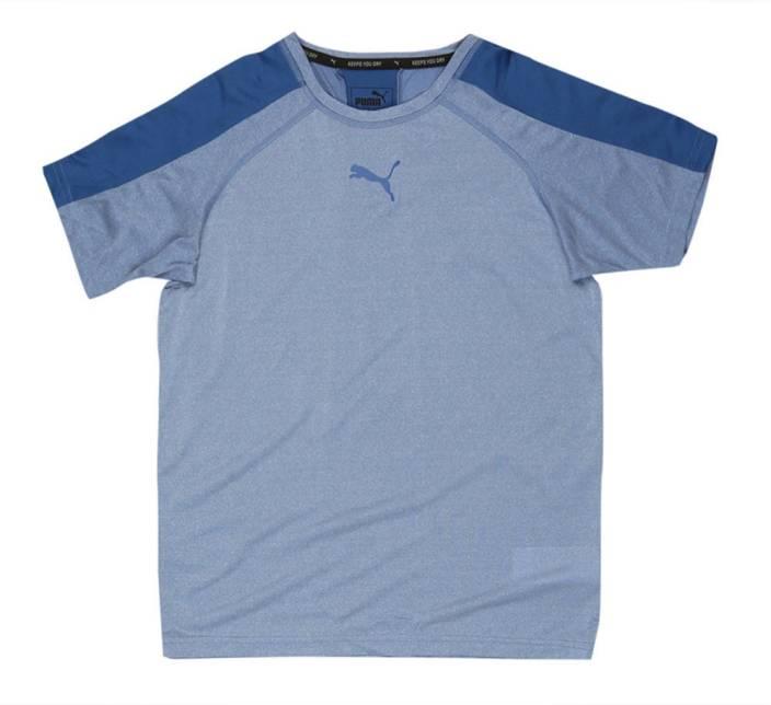 d9a2bb4f123 Puma Boys Solid Polyester T Shirt Price in India - Buy Puma Boys ...