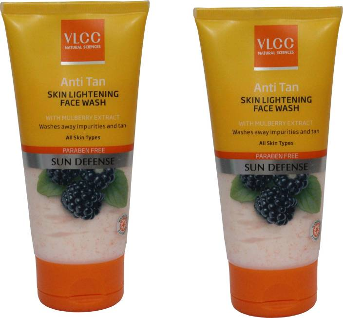 VLCC Anti Tan Skin Lightening Combo Face Wash  (300 g)