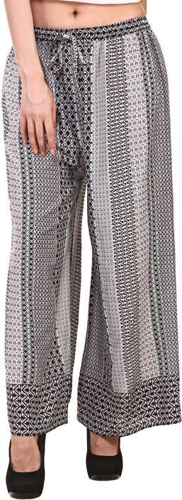 Hive91 Regular Fit Women Black Trousers