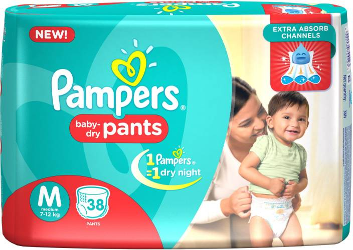 Pampers Pant Diapers - M