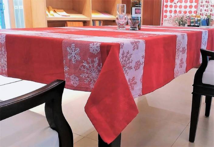 Home Matters Abstract 6 Seater Table Cover