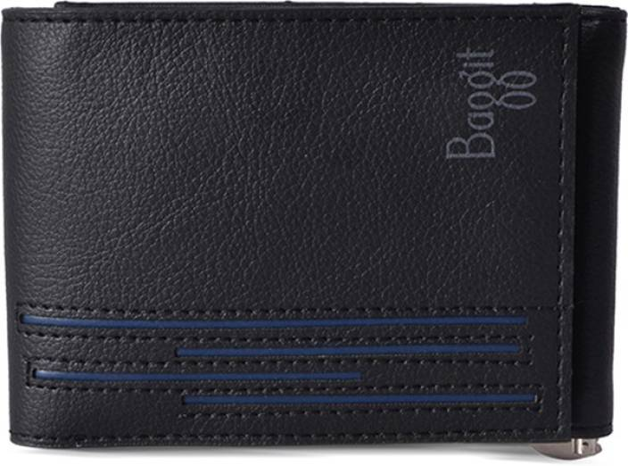 6cfdfb729f4a3 Baggit Men Black Artificial Leather Wallet Black - Price in India ...