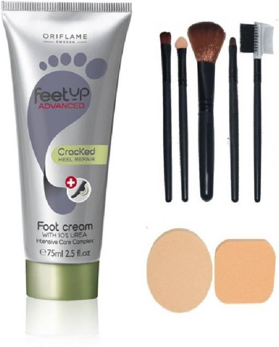 Oriflame Sweden Feet Up Advanced Cracked Heel Repair Foot Cream Combo