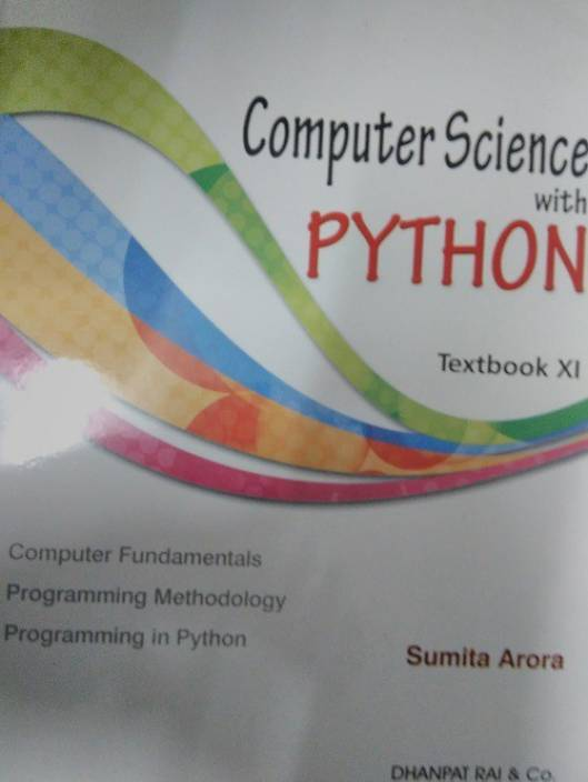 Computer Science With Python Textbook & Practical Book Class