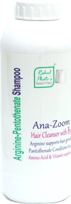 Rahul Phate's Research Product Ana-Zoom Arginine Pentothenate Shampoo
