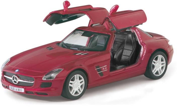 Kinsmart 5 Pull Back Action Mercedes Benz Sls Amg Car Toys For