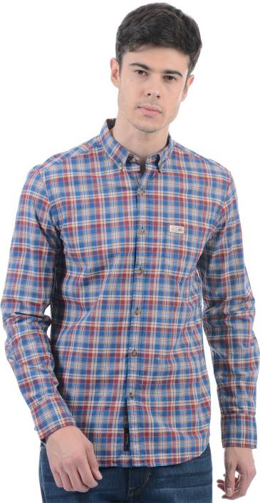 b6f4923e371a4 U.S. Polo Assn Men Checkered Casual Shirt - Buy U.S. Polo Assn Men  Checkered Casual Shirt Online at Best Prices in India