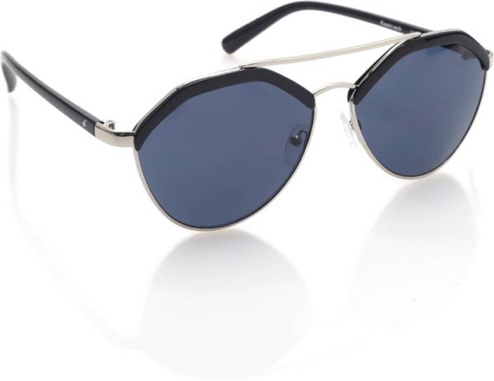 Buy Fastrack Aviator Sunglasses Blue For Women Online   Best Prices ... 6ba7e72307