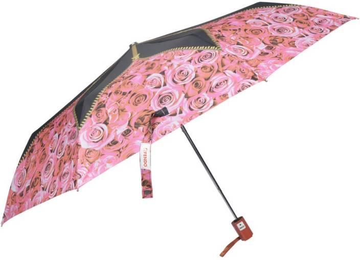 c18bb0a5644ad Fendo 3 fold Automatic multi color for Ladies Umbrella - Buy Fendo 3 ...