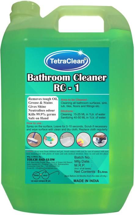TetraClean Bathroom Cleaner Fresh Lemon Grass Floor Cleaner
