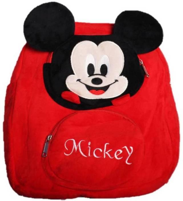 ToyJoy Mickey Mouse bag with three pockets - 35 cm - Mickey Mouse ... 7ec0fb17cc2ab