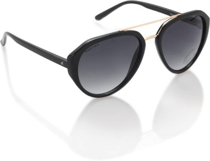 faf4a22ed4 Buy Fastrack Aviator Sunglasses Black For Men Online   Best Prices ...