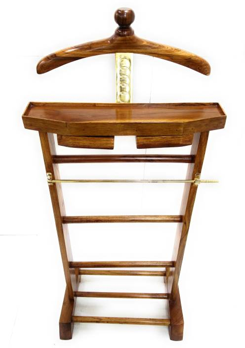 Av Styles Natural Finish Solid Wood Coat Stand Price In India Buy