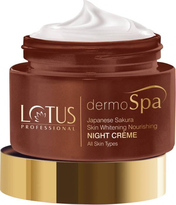 Lotus Herbals Dermo Spa Japanese Sakura Skin Whitening and ...