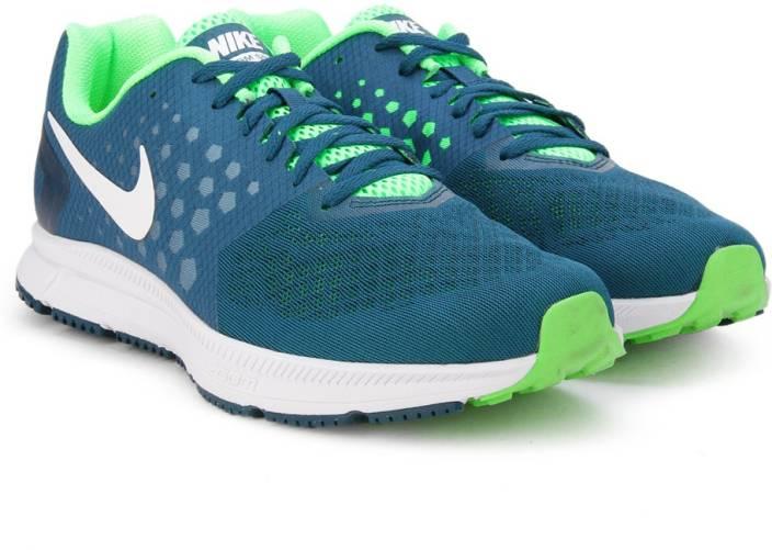 hot sale online eaf34 f9884 Nike AIR ZOOM SPAN Running Shoes For Men (Blue)