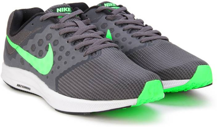 580c53e41c1 Nike DOWNSHIFTER 7 Running Shoes For Men - Buy DARK GREY RAGE GREEN ...