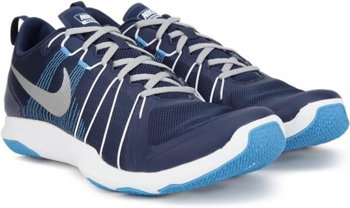 43e084de3420 Nike FLEX TRAIN AVER Training Shoes For Men - Buy Blue Color Nike ...