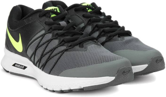 41a1530efe7 Nike AIR RELENTLESS 6 MSL Running Shoes For Men - Buy BLACK VOLT ...
