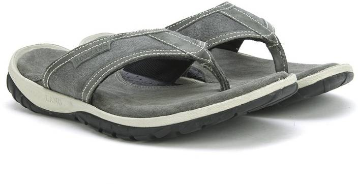 9761144acc0 Woodland Leather Flip Flops - Buy GREY Color Woodland Leather Flip Flops  Online at Best Price - Shop Online for Footwears in India