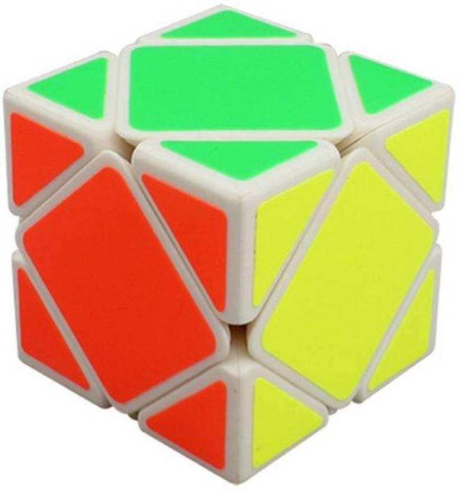 where can i buy huge discount big discount Montez Ultra Smooth QiYi Skewb Cube White Base Puzzle Twist
