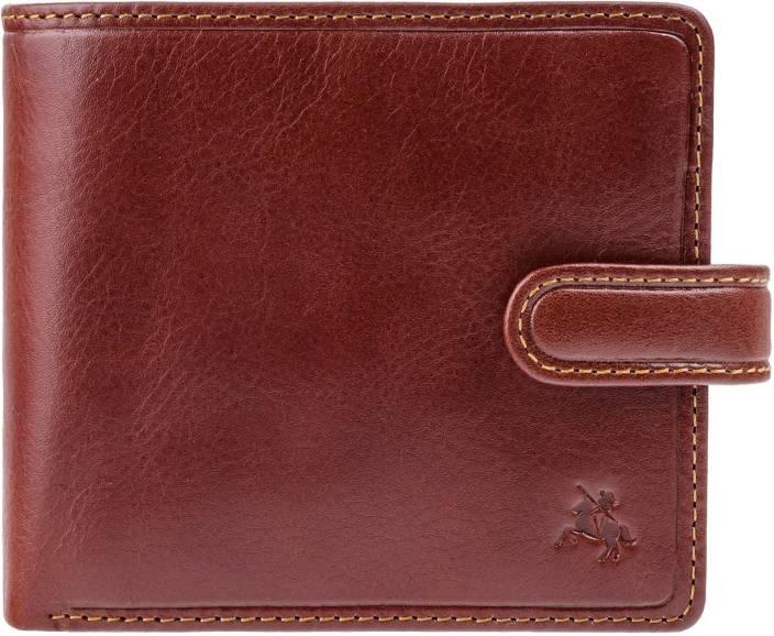 43c6851b Visconti Men Tan Genuine Leather Wallet