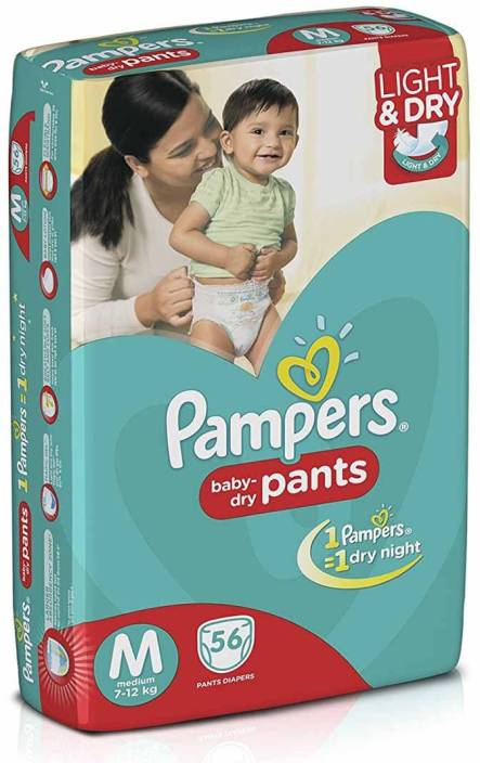 Pampers Baby-Dry Pants - M