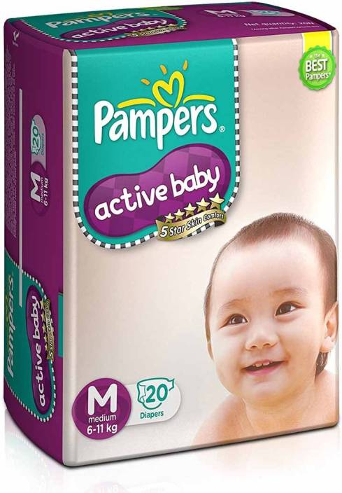 Pampers Active Baby - M