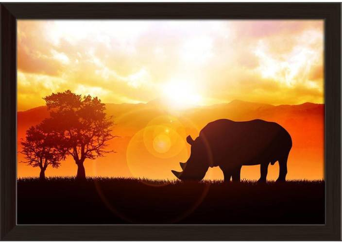 ArtzFolio Rchino Framed Wall Art Painting Print Canvas Painting ...