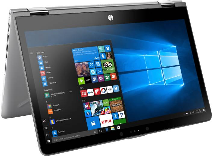 HP x360 Core i3 7th Gen - (4 GB/1 TB HDD/8 GB SSD/Windows 10 Home/2 GB Graphics) 14-ba075TX 2 in 1 Laptop