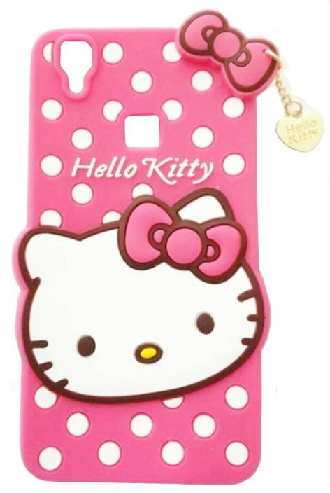 new style 8f3d6 87f31 NIK TECH ONLINE Back Cover for Hello Kitty vivo V3